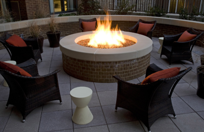 Outdoor Fire Pit at Andaz Savannah