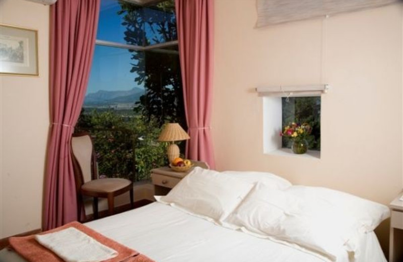 Guest room at Berghof-Paarl Wine and Guest Resort.