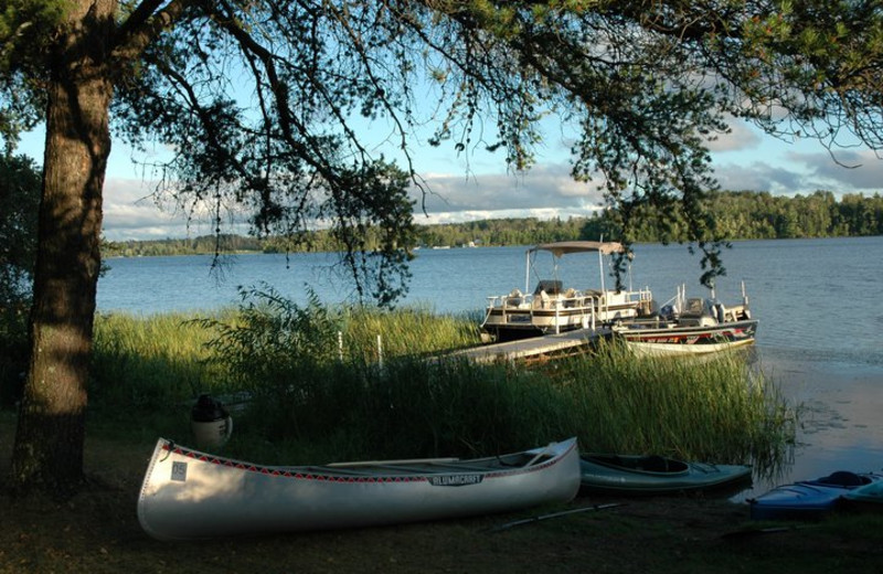 Beautiful Lake View at Everett Bay Lodge