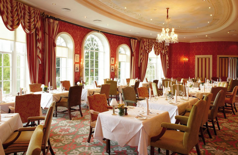 Dining at Kildare Hotel and Country Club.