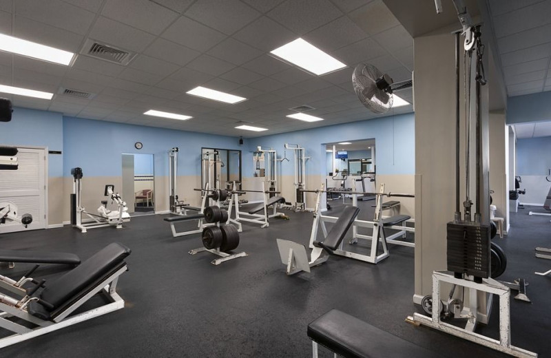 Gym at Sands Resorts.
