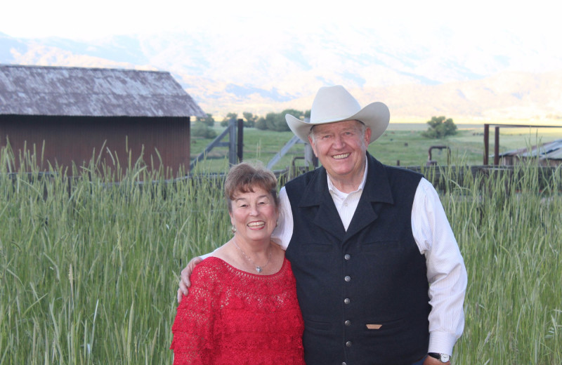 Couple at Rankin Ranch.