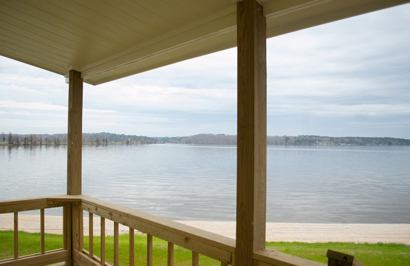Lake view at D'Arbonne Pointe.