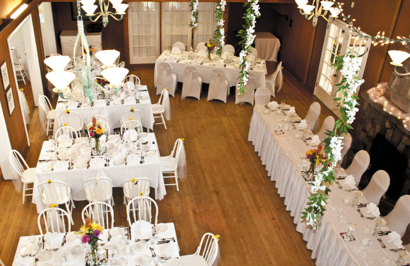 Reception Layout at The Briars