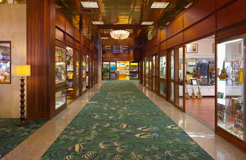 Onsite Shopping at Pacific Beach Hotel Waikiki