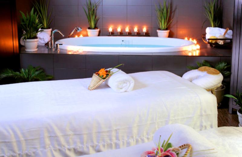 Massage Tables at  The Westin Hilton