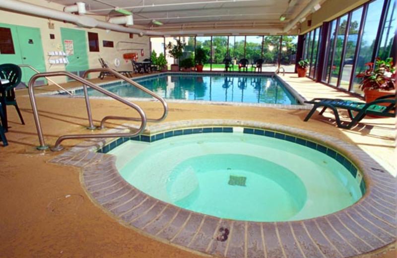 Indoor pool at Fairfield Inn Ann Arbor.
