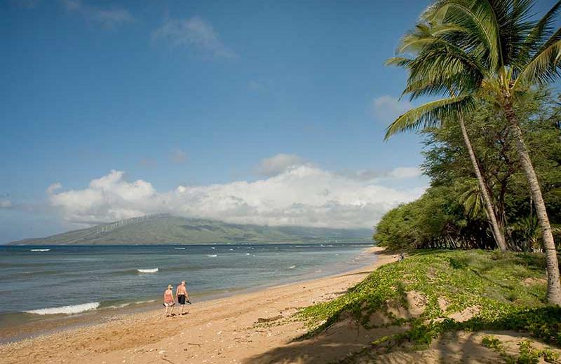 The beach at Hale Kai O Kihei.
