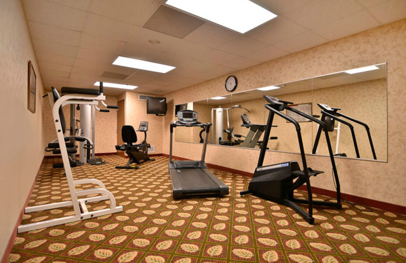 Fitness Room at  Comfort Inn & Suites