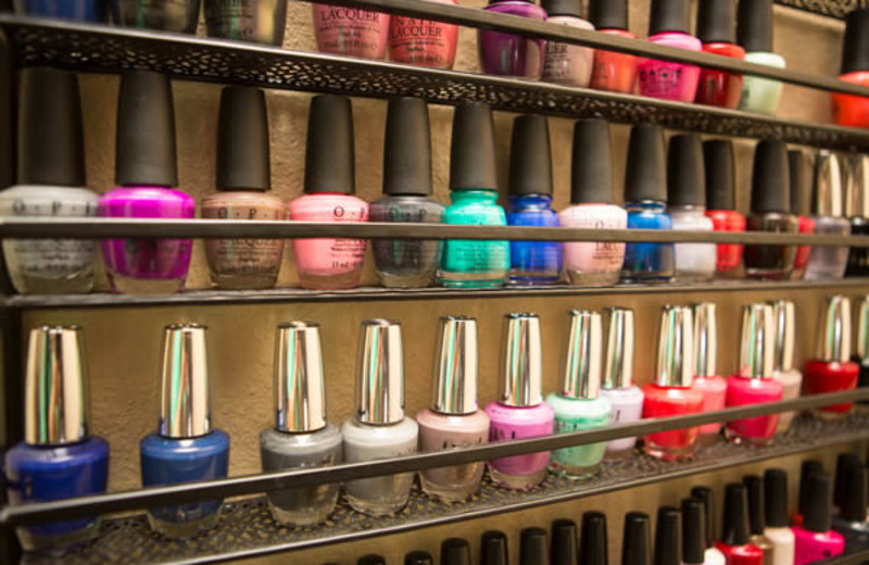 Nail polish at Old Kinderhook Resort & Golf Club.