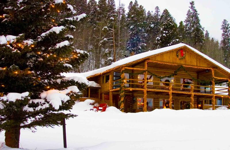Holidays at C Lazy U Ranch.