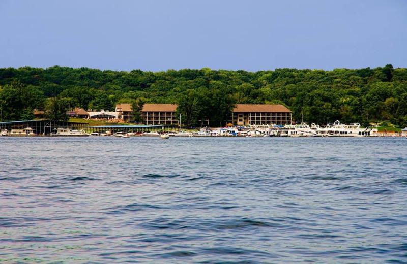 Exterior view of Fourwinds Resort & Marina.