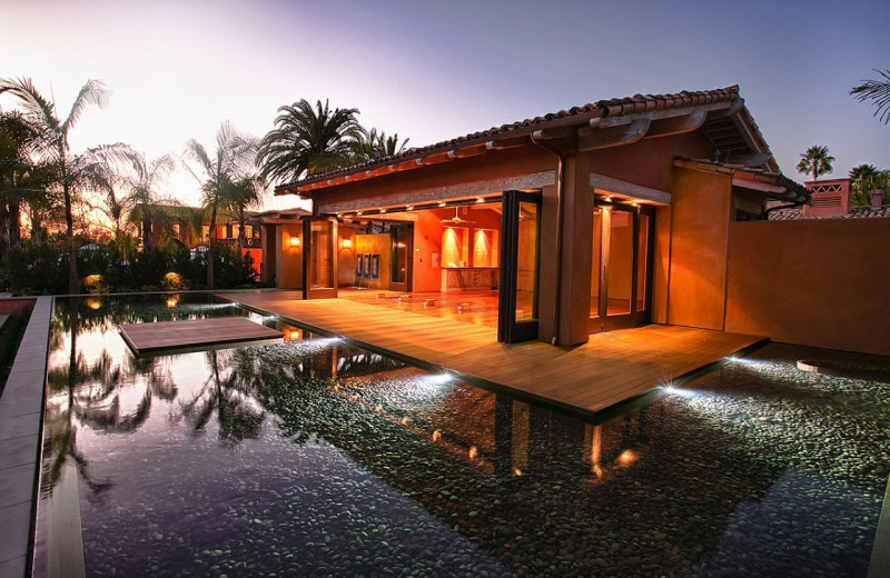 Spa at Rancho Valencia Resort.