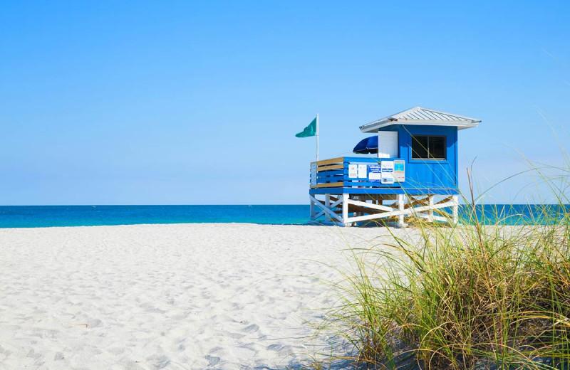 Beach at Inn At The Beach Resort.
