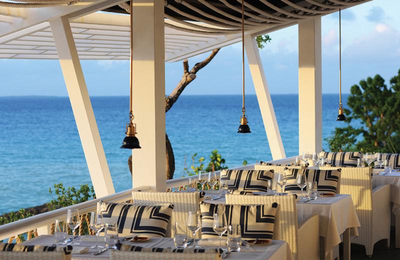 Dining at Malliouhana Hotel.