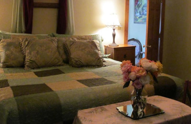 Guest room at Allseasons Treehouse Village.