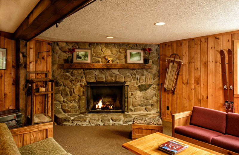 Lounge at Snowy Owl Inn and Resort.