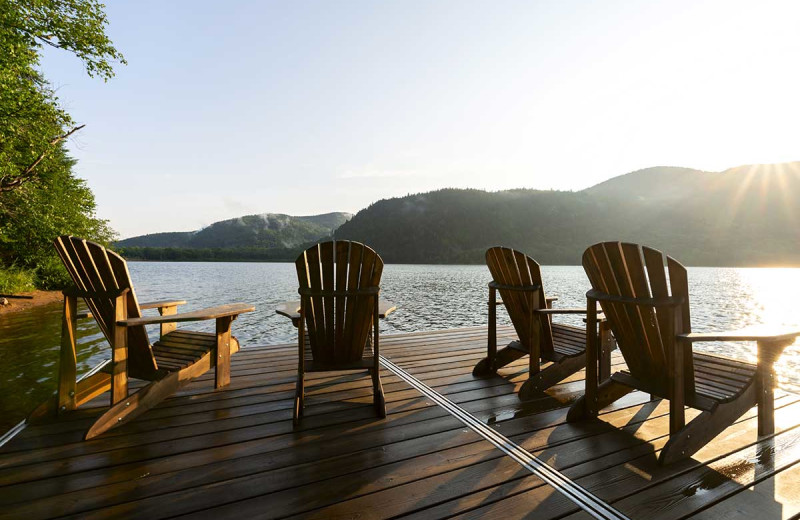 Deck at Great Blue Resorts.