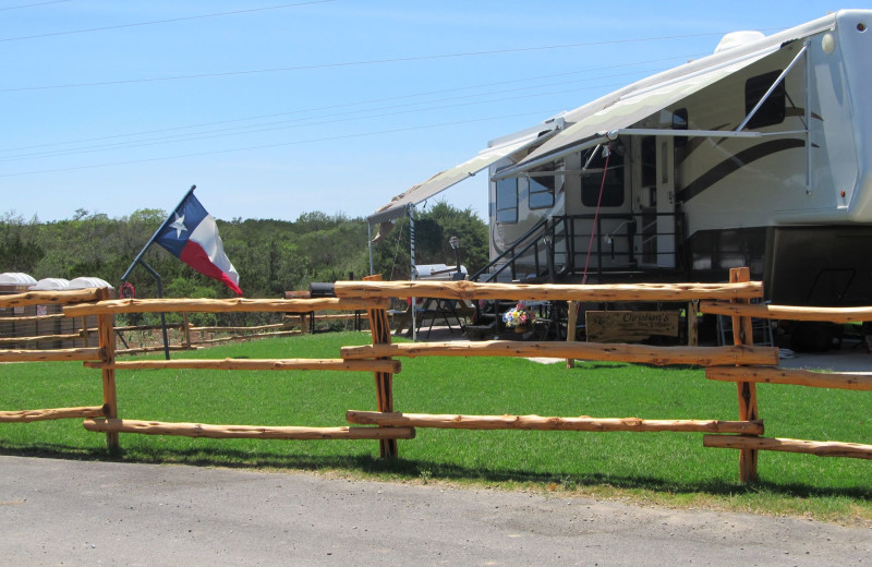 RV resort at Twin Elm Ranch.