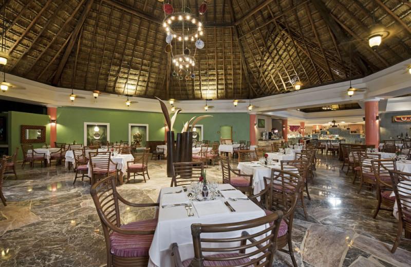 Dining at Iberostar Cozumel.