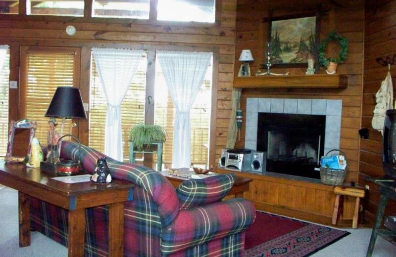 Cabin Interior at Red Bud Valley Resort