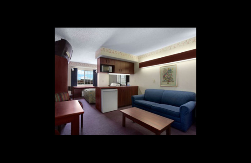 Guest suite at Microtel Inn & Suites Detroit.