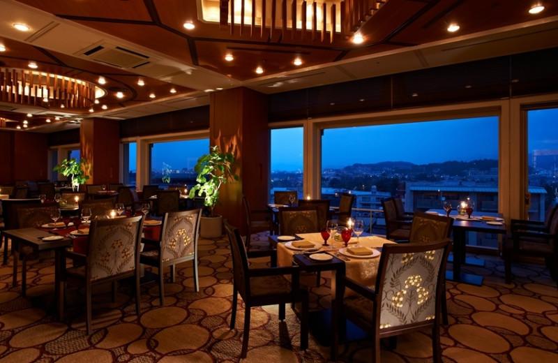 Dining at The Miyako.