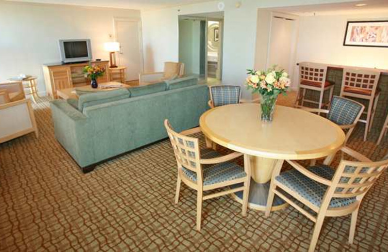 Suite Interior at Doubletree by Hilton