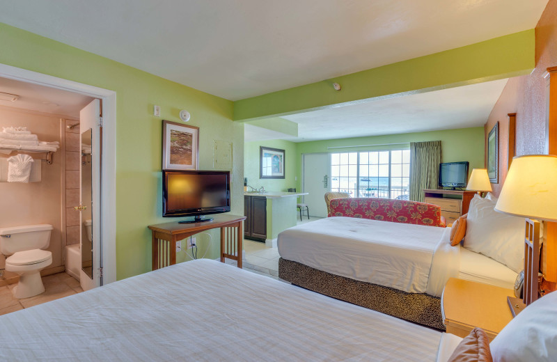 Guest room at Pierview Hotel & Suites.