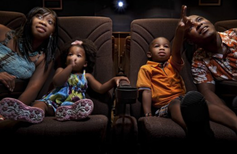 Family movie theater at Westgate Town Center.