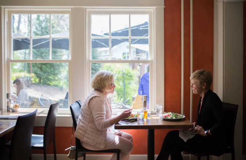 Dining at Oakhurst Inn.