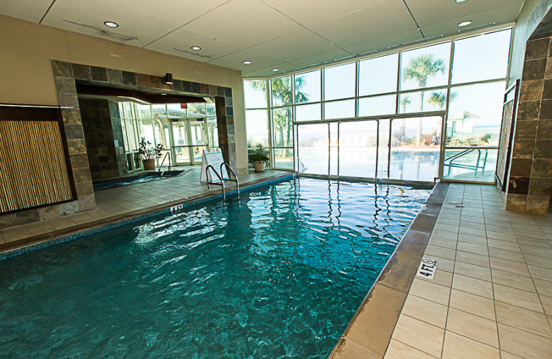 Indoor pool at Sterling Resorts.