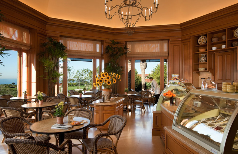 Dining at The Resort at Pelican Hill.