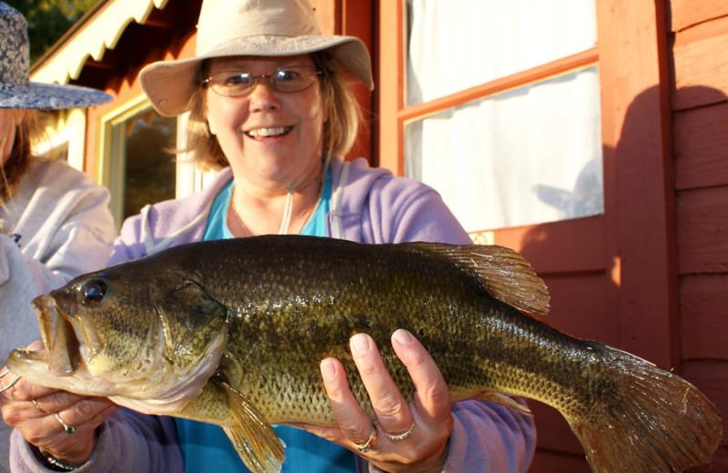 Big catch at Birch Bay Resort Inn.