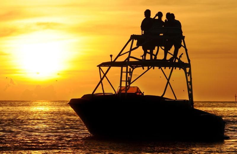 Fishing at Crowne Plaza Key West La Concha.