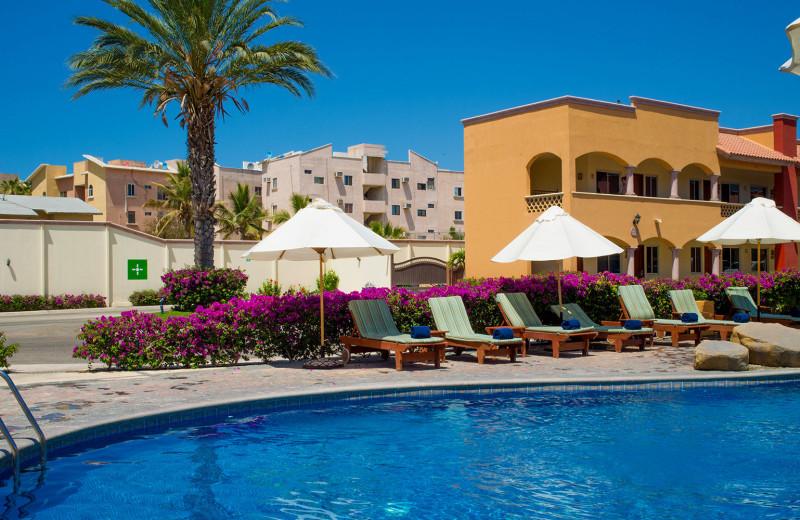 Outdoor pool at Hotel Quinta del Sol by Solmar.