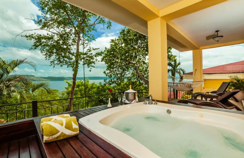Hot tub at Occidental Grand Papagayo Resort.