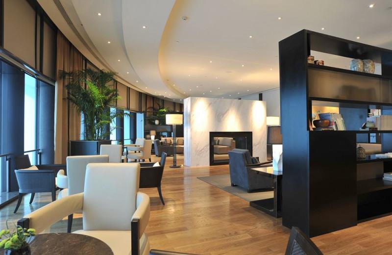 Lounge at Jinling Hotel.