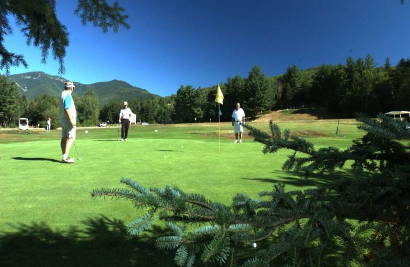 Golf at Waterville Valley Resort.