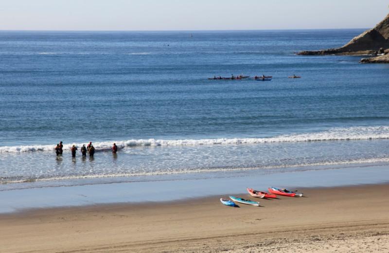 Beach at Shorepine Vacation Rentals.