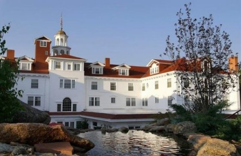 Exterior of The Stanley Hotel