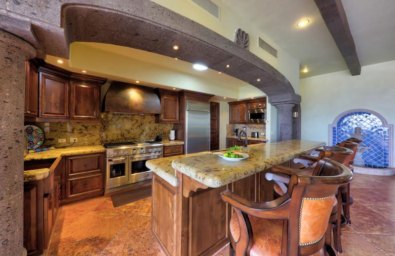 Kitchen at Casa Mar y Estrella.