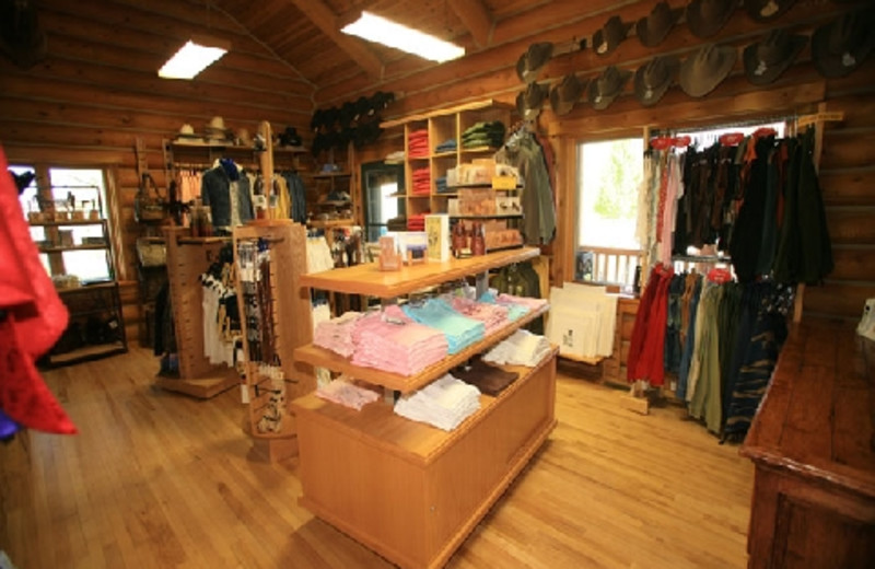 Gift Shop at The Hideout Lodge & Guest Ranch.