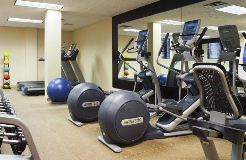 Fitness room at DoubleTree Fallsview Resort & Spa by Hilton - Niagara Falls.