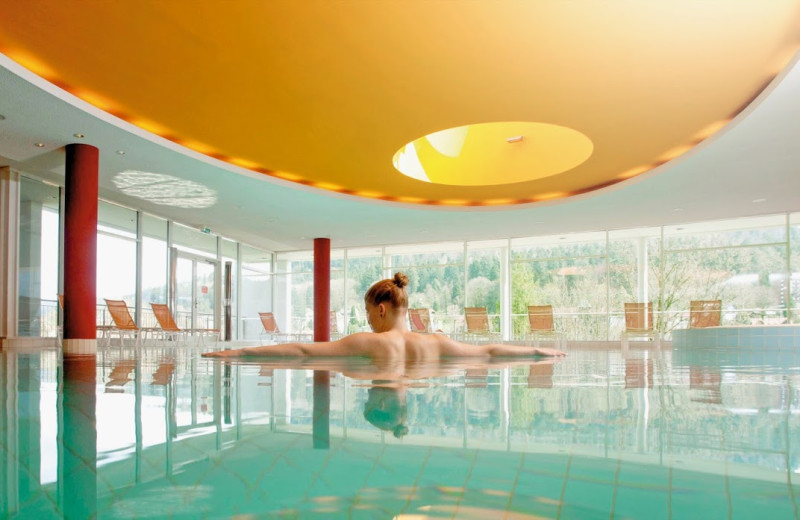 Indoor pool at Schwarzwald Panorama Bad Herrenalb.