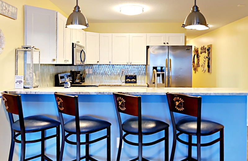 Put-in-Bay Waterfront Condos Kitchen