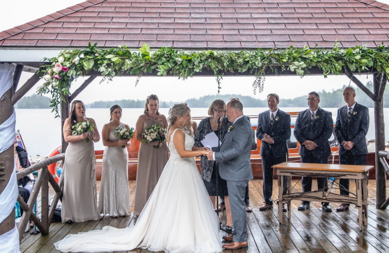 Weddings at Severn Lodge.