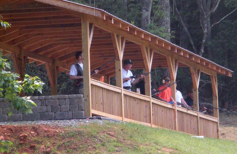 Shooting range near Blue Sky Cabin Rentals.