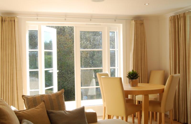 Cottage interior at West Highlands.