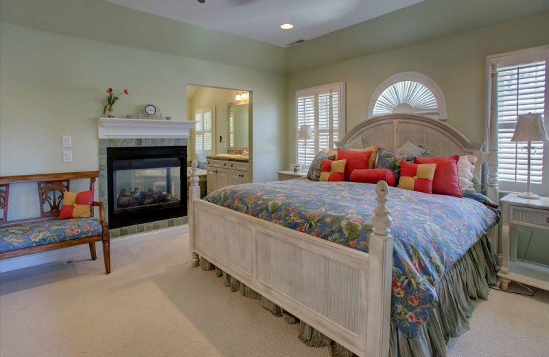 Rental bedroom at Jersey Cape Realty